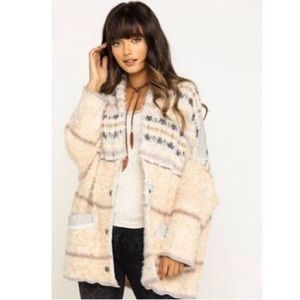 FreePeople Oversized Sweater Coat
